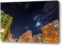 Постер Ночная жизнь города