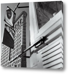 Вид сверху на Уолл Стритт,1890г.