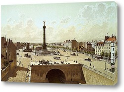 Картина Площадь Бастилии