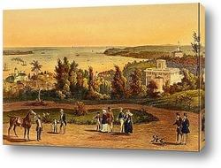 Городок  на берегу Сены.