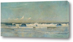 Постер Морской пейзаж, Сент-Ив, 1890