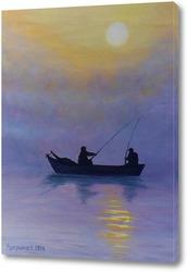 Картина Удачная рыбалка
