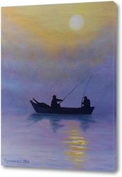 Постер Удачная рыбалка