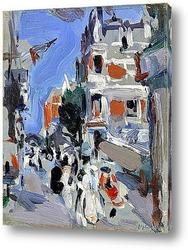 Картина Парижский пляж