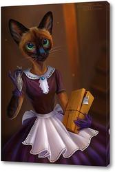 Картина Кошка фурри