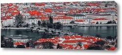 Постер Панорама Праги