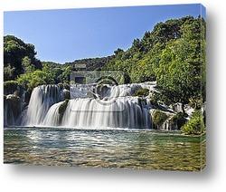 Постер Waterfalls in Krka National Park