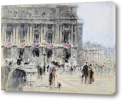 Картина Париж, опера