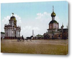 Постер Красные Ворота Триумфа в Москве