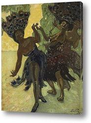 Постер Танцы негритянок, 1904