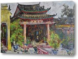 Картина Храм в Хояне.
