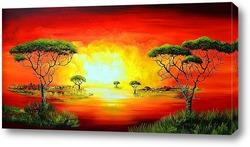 Картина африка