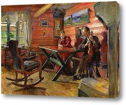 Картина Гостиная в Колбот