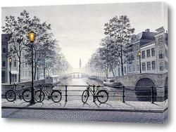 Картина Вечерний Амстердам