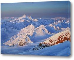 Картина Приэльбрусье, вид с Приюта11