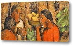 Постер Продавцы манго
