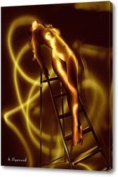 Постер Девушка во тьме