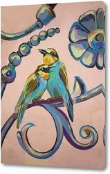 Постер Райские птахи. Парочка.