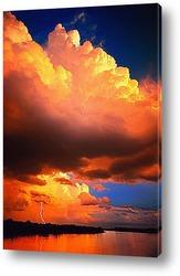 volcan en Г©ruption