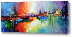 Картина Краски заката