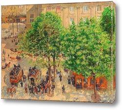 Площадь дю Театр-франсез. Весна (1898)