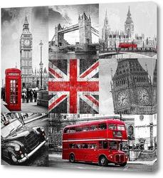 Коллажи Лондон