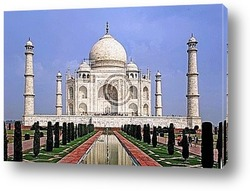 Постер India, agra: taj mahal