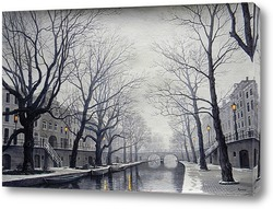 Постер Вечерний Амстердам