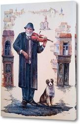 Картина Странствующий скрипач