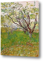 Пшеничное поле, под грозовыми тучами, 1890