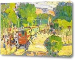Картина Цыганский поезд