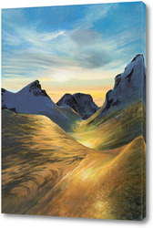 Картина Во французских Альпах