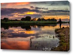 Картина Рыбак