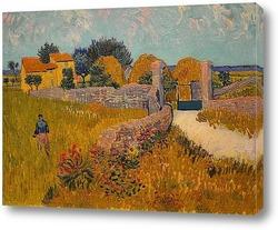 Картина Сельский дом в Провансе, 1888