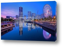 Постер Yokohama Skyline