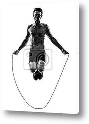 кроссфит, мужская подготовка к тренировке с гирями