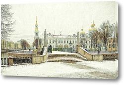 Постер Санкт-Петербург. Красногвардейский мост.