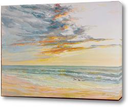 Картина Вечер у моря