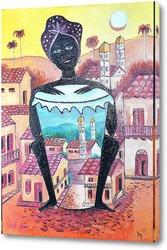 Картина Куба Африка