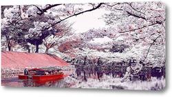 Постер Весна в Японии