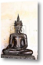 Постер Buddha statue in bangkok,thailand