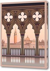 Картина Утро в Венеции
