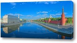 Постер Утро на Москва-реке.