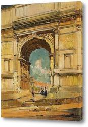 Картина Триумфальная арка и Колизей