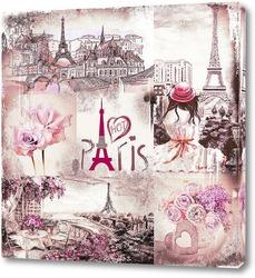 Постер Прекрасный Париж