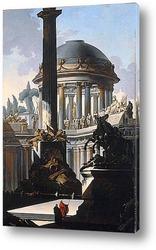 Постер Архитектурное каприччо