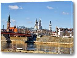 Постер Вид на город Каунас