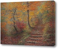 По ступеням с осенью...