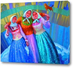 Постер Девушкины песни