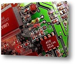 Постер Circuit board